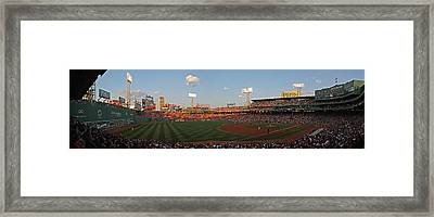 Red Sox Yankees Rivalry Framed Print