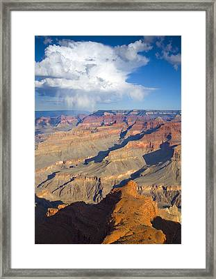 Red Storm Rising Framed Print