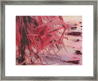 Red Tide Framed Print by Ethel Vrana
