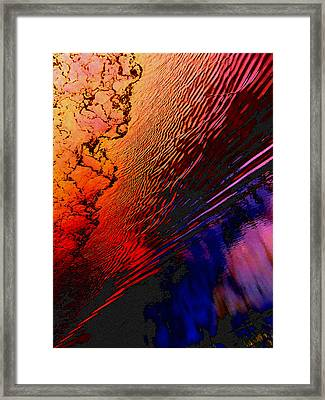 Red Tide Framed Print by Randall Weidner