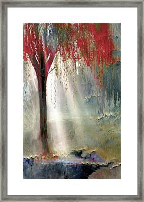 Red Tree 1  Framed Print