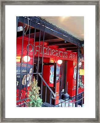 Red  Framed Print by Vijay Sharon Govender