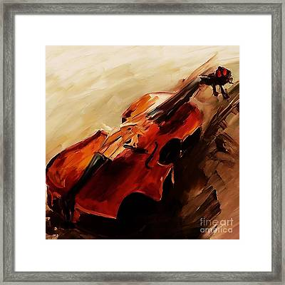 Red Violin  Framed Print
