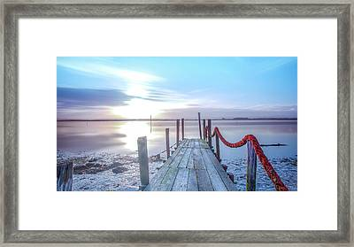 Framed Print featuring the photograph Red Vs Blue by Bruno Rosa