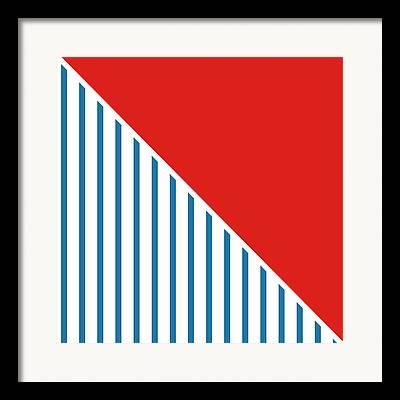 4th July Digital Art Framed Prints