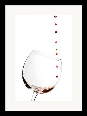 Glass Of Water Framed Prints