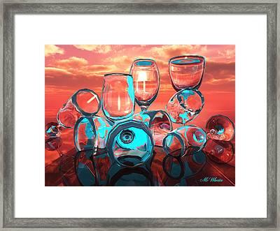 Merlot Framed Print by Williem McWhorter