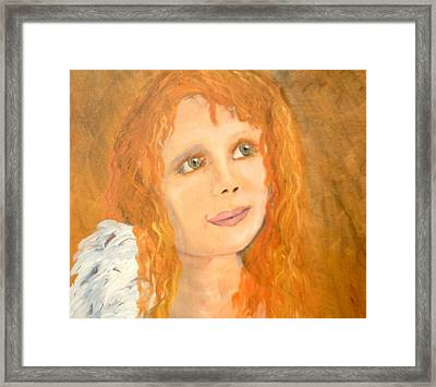 Red Wishes Framed Print by J Bauer