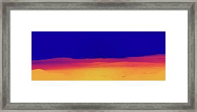 Red Yellow Blue Framed Print by Gilbert Artiaga