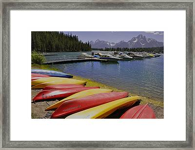 Red Yellow Framed Print