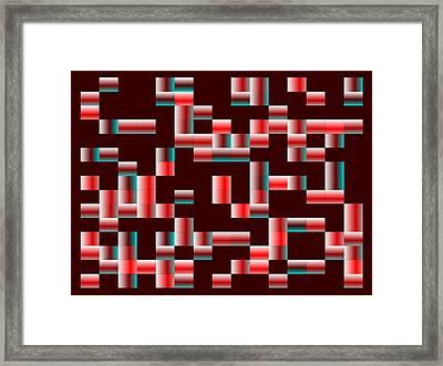 Red.121 Framed Print by Gareth Lewis