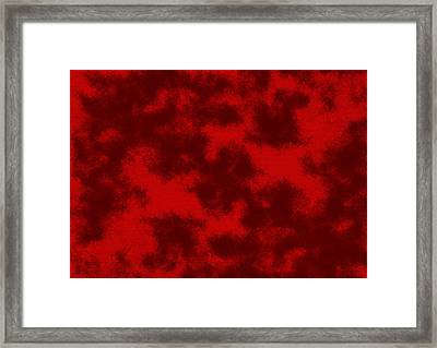 Red.233 Framed Print by Gareth Lewis