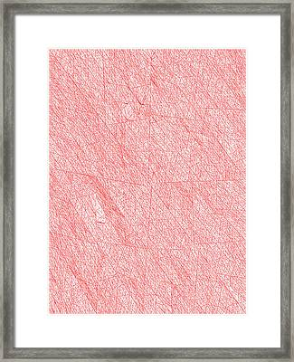 Red.272 Framed Print by Gareth Lewis