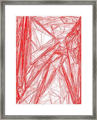 Red.282 Framed Print by Gareth Lewis