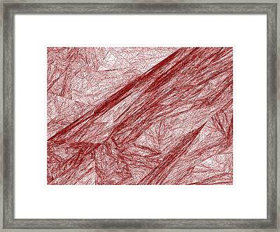 Red.289 Framed Print by Gareth Lewis