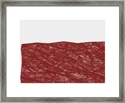 Red.304 Framed Print