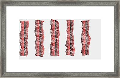 Red.335 Framed Print by Gareth Lewis