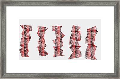 Red.336 Framed Print