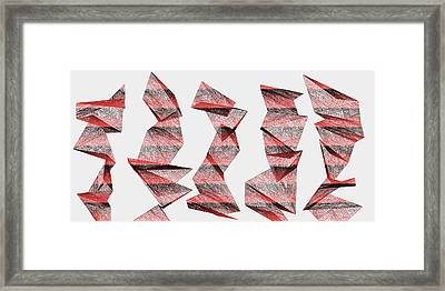 Red.340 Framed Print
