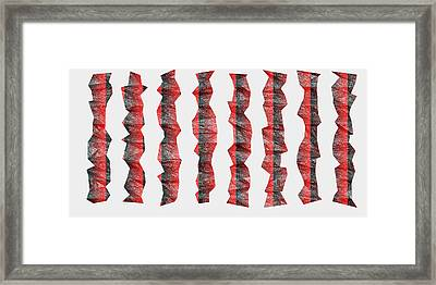 Red.341 Framed Print by Gareth Lewis