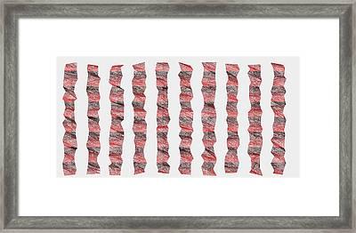 Red.343 Framed Print