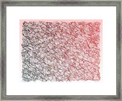 Red.352 Framed Print by Gareth Lewis