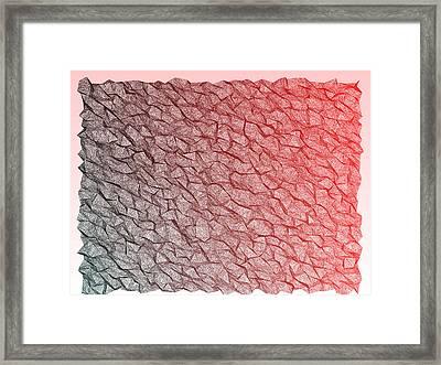 Red.353 Framed Print by Gareth Lewis