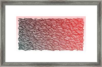 Red.354 Framed Print by Gareth Lewis