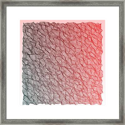 Red.355 Framed Print by Gareth Lewis