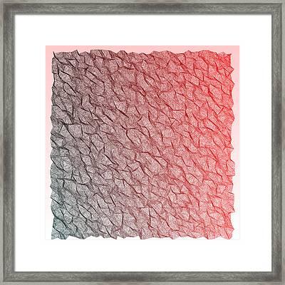 Red.355 Framed Print