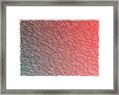 Red.356 Framed Print