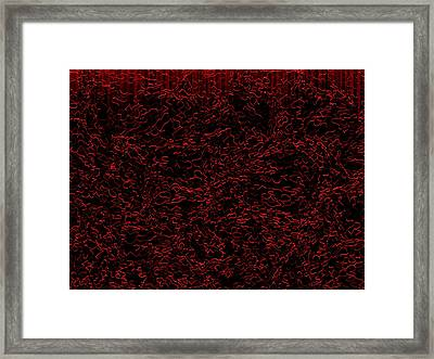 Red.398 Framed Print by Gareth Lewis