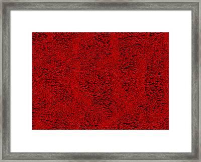 Red.408 Framed Print by Gareth Lewis
