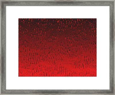 Red.421 Framed Print by Gareth Lewis