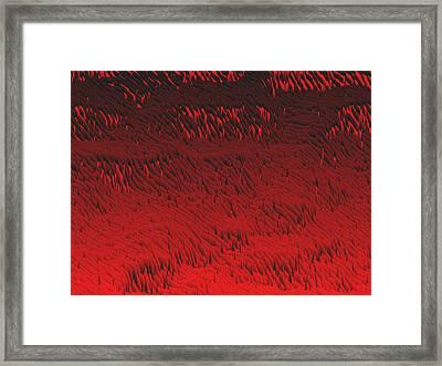Red.422 Framed Print by Gareth Lewis