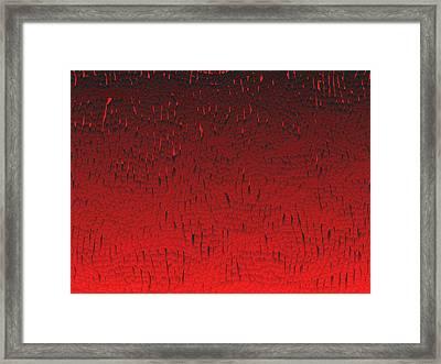 Red.424 Framed Print by Gareth Lewis