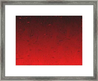 Red.425 Framed Print