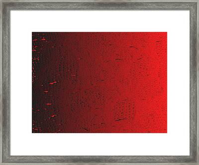 Red.426 Framed Print