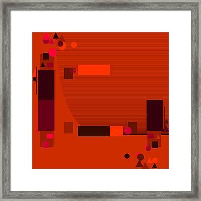 Red.58 Framed Print