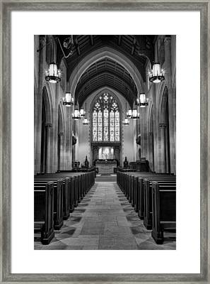 Redemption - Church Of Heavenly Rest #2 Framed Print by Stephen Stookey