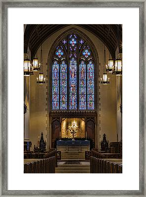 Redemption - Church Of Heavenly Rest Framed Print by Stephen Stookey
