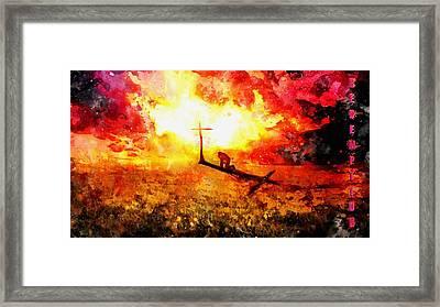 Redemption John Chapter 3 Framed Print