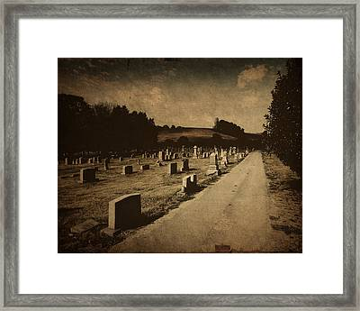 Redemption Road Framed Print by Amy Tyler