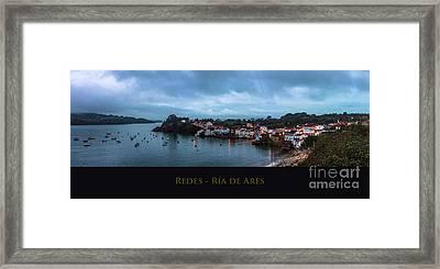 Redes Ria De Ares La Coruna Spain Framed Print