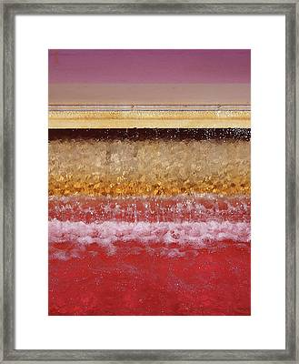 Redfall Framed Print by Philip Openshaw