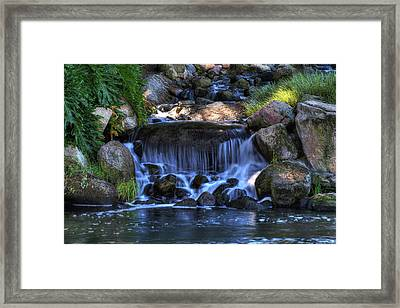 Redhawk Waterfall 10 Framed Print