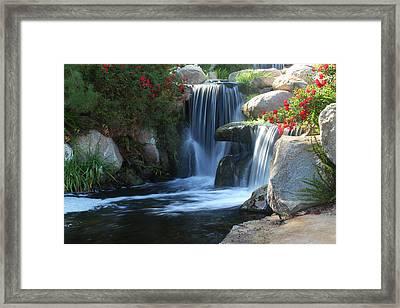 Redhawk Waterfall 5 Framed Print by Richard Stephen