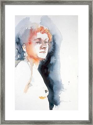 Redhead #1 Framed Print