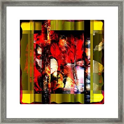 Redhead Framed Print by John Rizzuto