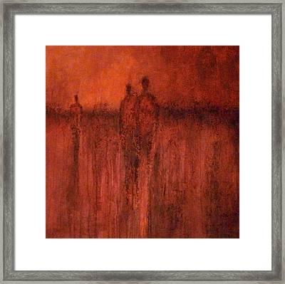 Redmen Framed Print